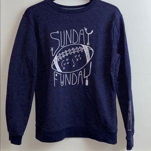 CAT & JACK sweater football 🏈 season